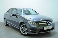 2012 MERCEDES-BENZ C CLASS 1.6 C180 BLUEEFFICIENCY AMG SPORT 4d AUTO 154 BHP £11795.00