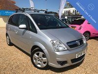 USED 2008 08 VAUXHALL MERIVA 1.6 BREEZE 16V 5d 100 BHP Low Mileage 5 door Petrol Manual with FSH