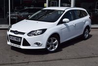 USED 2013 63 FORD FOCUS 1.6 ZETEC TDCI 5d 113 BHP ***FULL SERVICE HISTORY***