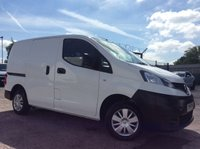 2015 NISSAN NV200 SWB 1.5 DCI ACENTA 90 BHP 1 OWNER FSH NEW MOT AIR CON RACKING £7500.00