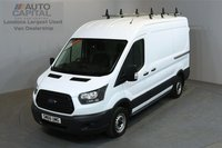 USED 2017 66 FORD TRANSIT 2.0 290 104 BHP L2 H2 MWB MEDIUM ROOF E6 ONE OWNER FROM NEW, MANUFACTURE WARRANTY UNTIL 12/02/2020