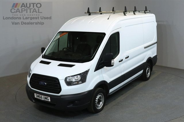 2017 66 FORD TRANSIT 2.0 290 104 BHP L2 H2 MWB MEDIUM ROOF E6 ONE OWNER FROM NEW, MANUFACTURE WARRANTY UNTIL 12/02/2020