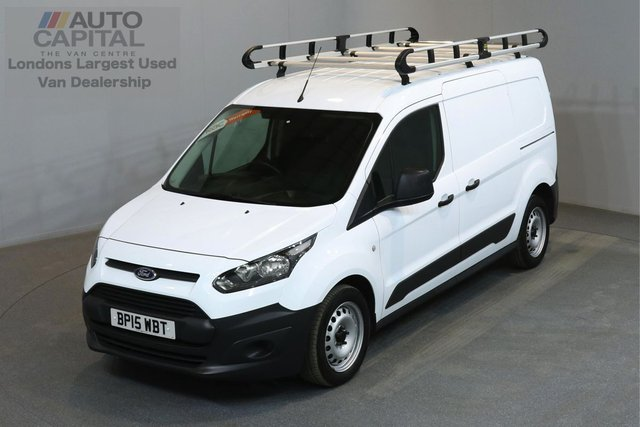 2015 15 FORD TRANSIT CONNECT 1.6 240 114 BHP L2 H1 LWB LOW ROOF 2 OWNER FROM NEW