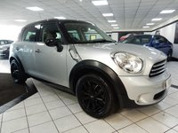 2012 MINI COUNTRYMAN 1.6 COOPER D 112 BHP £8675.00