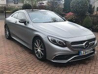 USED 2015 64 MERCEDES-BENZ S CLASS 6.0 S65 AMG 2dr STUNNING LOW MILEAGE PERFORMANCE SALOON