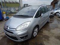 2012 CITROEN C4 GRAND PICASSO 2.0 PLATINUM HDI 5d 148 BHP £4650.00