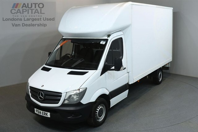 2014 14 MERCEDES-BENZ SPRINTER 2.1 313 CDI 129 BHP LWB LUTON VAN ONE OWNER FROM NEW, MOT UNTIL 10/06/2019