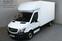 USED 2014 14 MERCEDES-BENZ SPRINTER 2.1 313 CDI 129 BHP LWB  LUTON VAN ONE OWNER FROM NEW