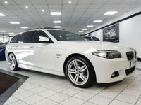 2015 BMW 5 SERIES 520D M SPORT PLUS TOURING AUTO 190 BHP £18450.00