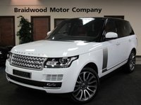 2013 LAND ROVER RANGE ROVER 4.4 SDV8 AUTOBIOGRAPHY 5d AUTO 339 BHP £SOLD