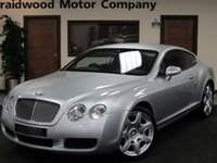 2007 BENTLEY CONTINENTAL 6.0 GT 2d AUTO 550 BHP £26750.00