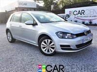 USED 2014 14 VOLKSWAGEN GOLF 1.6 SE TDI BLUEMOTION TECHNOLOGY 5d 103 BHP 1 PREVIOUS OWNER + FULL HISTORY