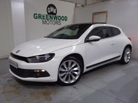 USED 2014 14 VOLKSWAGEN SCIROCCO 2.0 TDI BlueMotion Tech GT 3dr