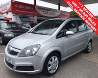 USED 2007 56 VAUXHALL ZAFIRA 1.8 CLUB 16V  7 SEATER ** LOW MILEAGE **