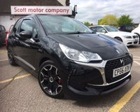 USED 2016 66 DS DS 3 1.2 PURETECH CHIC 3d 80 BHP