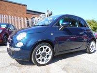 2015 FIAT 500 0.9 TWINAIR LOUNGE DUALOGIC 3d AUTO 85 BHP £6995.00