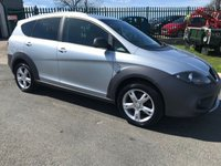 2007 SEAT ALTEA FREETRACK 2.0 TDI 170ps  4x4 4wd fsh low road tax great all round car  £3995.00