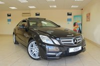 2012 MERCEDES-BENZ E CLASS 2.1 E220 CDI BLUEEFFICIENCY SPORT 2d AUTO 170 BHP COUPE £12450.00
