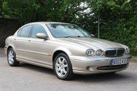 2002 JAGUAR X-TYPE 2.1 V6 SE 4d 157 BHP £995.00