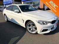 2015 BMW 4 SERIES 2.0 420I XDRIVE M SPORT GRAN COUPE 4d AUTO 181 BHP £SOLD