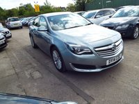 USED 2014 14 VAUXHALL INSIGNIA 2.0 ENERGY CDTI ECOFLEX S/S 5d 160 BHP SERVICE HISTORY