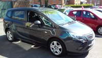 USED 2015 15 VAUXHALL ZAFIRA TOURER 2.0 EXCLUSIV CDTI 5d AUTO 162 BHP 7 SEATER AUTOMATIC CHEAP TO RUN AND EXCELLENT FUEL ECONOMY!..GOOD SPECIFICATION INCLUDING AIR CONDITIONING, PARKING SENSORS, REMOTE CENTRAL LOCKING, AUXILLIARY INPUT AND USB! FULL VAUXHALL SERVICE HISTORY AND ONLY 18435 MILES FROM NEW!!