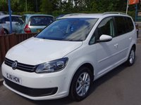 2011 VOLKSWAGEN TOURAN 2.0 SE TDI BLUEMOTION TECHNOLOGY 5dr, 7 Seater £6845.00