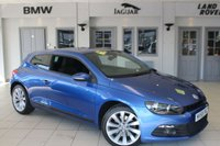 USED 2009 58 VOLKSWAGEN SCIROCCO 2.0 GT 3d 200 BHP FULL VW SERVICE HISTORY + 18 INCH ALLOYS + RAIN SENSORS + TOUCH SCREEN MONITOR + AIR CONDITIONING