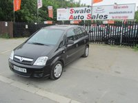 USED 2007 07 VAUXHALL MERIVA 1.4 LIFE 16V TWINPORT 5d 90 BHP FINANCE AVAILABLE FROM £27 PER WEEK OVER TWO YEARS - SEE FINANCE LINK