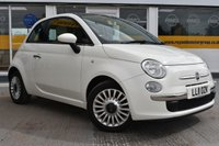 USED 2011 11 FIAT 500 0.9 LOUNGE 3d 85 BHP THE CAR FINANCE SPECIALIST