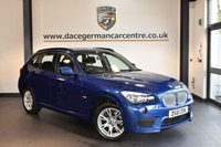 USED 2012 61 BMW X1 2.0 XDRIVE23D M SPORT 5DR 201 BHP FULL SERVICE HISTORY  + FULL BMW SERVICE HISTORY + SPORT SEATS + AUTOMATIC AIR CONDITIONING + PARK DISTANCE CONTROL + RAIN SENSOR + 17 INCH ALLOY WHEELS +