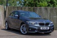 2014 BMW 2 SERIES 2.0 218D M SPORT 2d 141 BHP £11250.00