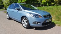 USED 2008 08 FORD FOCUS 1.6 ZETEC 5d 100 BHP **FULL HISTORY**GREAT CONDITION**SUPERB DRIVE**