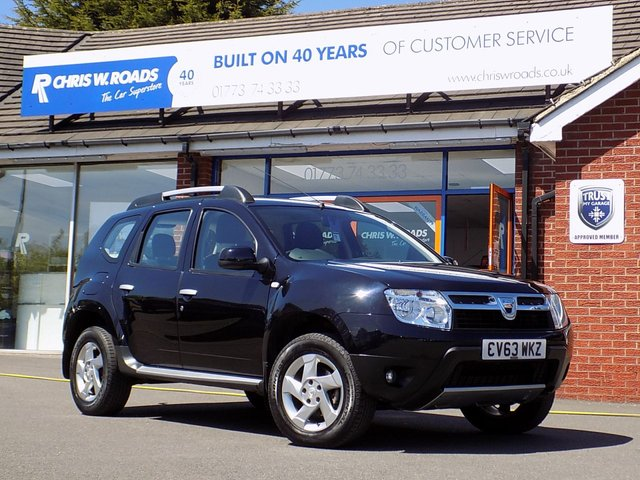 USED 2013 63 DACIA DUSTER 1.5 DCi LAUREATE 5dr ** Superb Value MPV **