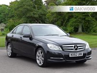 2012 MERCEDES-BENZ C CLASS 2.1 C220 CDI BLUEEFFICIENCY EXECUTIVE SE 4d 168 BHP £SOLD