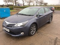 USED 2014 64 TOYOTA AVENSIS 2.0 D-4D ICON 4d 124 BHP