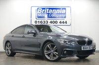 2014 BMW 4 SERIES GRAN COUPE 2.0 420D XDRIVE DIESEL M SPORT GRAN COUPE 4 DOOR 181 BHP £17990.00
