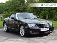 USED 2005 05 CHRYSLER CROSSFIRE 3.2 V6 2d AUTO 215 BHP