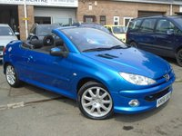 2006 PEUGEOT 206 1.6 SPORT COUPE CABRIOLET HDI 2d 108 BHP £1295.00