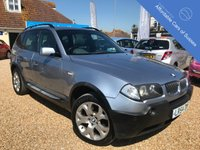 USED 2004 54 BMW X3 X3 Sport Petrol Automatic Stunning 4x4 with Nav and Fixed Pano Glass Roof