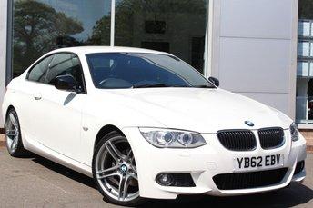 2012 BMW 3 SERIES 2.0 318I SPORT PLUS EDITION 2d 141 BHP £12000.00
