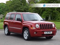 USED 2010 10 JEEP PATRIOT 2.0 LIMITED CRD 5d 139 BHP
