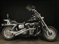 USED 2009 57 HARLEY-DAVIDSON FAT BOB 1803cc. 09. RECENT SERVICE. 6547 MILES. PIPES. ALARM. BREATHER.
