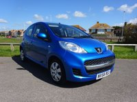 2009 PEUGEOT 107 1.0 URBAN 5d AUTO 68 BHP BLUE, 3 OWNERS, SERVICE HISTORY £3895.00