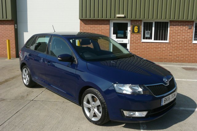 2016 16 SKODA RAPID 1.2 SPACEBACK SE TECH TSI 5d 109 BHP