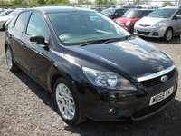 2009 FORD FOCUS 1.6 ZETEC TDCI 5d 109 BHP £SOLD