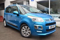 2014 CITROEN C3 PICASSO 1.6 PICASSO EXCLUSIVE HDI 5d 91 BHP £6350.00