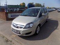 2010 VAUXHALL ZAFIRA 1.9 EXCLUSIV CDTI 5d AUTO 118 BHP £5495.00