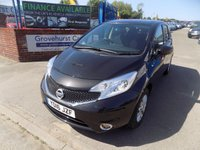 2016 NISSAN NOTE 1.5 ACENTA DCI 5d 90 BHP £6495.00