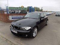 2007 BMW 1 SERIES 1.6 116I M SPORT 5d 114 BHP £5495.00